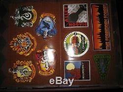 Harry Potter Relié Complet Book Set Livres 1-7 Poudlard Trunk Avec Des Autocollants