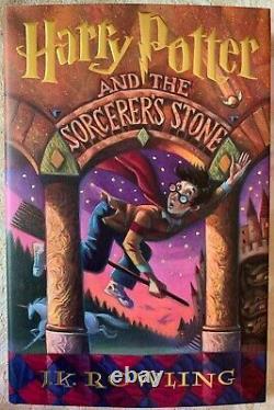 Harry Potter Relié Complete Set Collection Box Par J. K. Rowling Nouveau