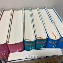 Harry Potter Série Complète 11 Livres Ensemble Novel Couverture Rigide Langue Japonaise