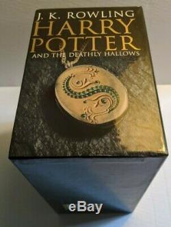 Harry Potter Série Complète Uk Adult Édition À Couverture Rigide Boxset Épuisé Rare