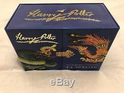 Harry Potter Signature Complete Edition Box Set (livre Relié) Presque Neuf