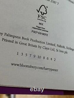 Harry Potter Signature Edition Hardback Books Coffret Complet
