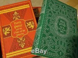 Harry Potter Special De Coffret Complet 7 Set Britannique Hc Bloomsbury