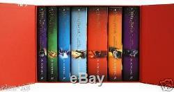 Harry Potter Special Ed Gift Coffret Complet De 7 Set Britannique Hc Bloomsbury