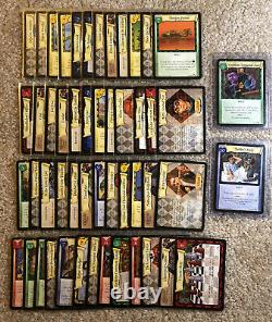 Harry Potter Tcg Chambre Des Secrets Près De L'ensemble Complet 135/140 Cartes