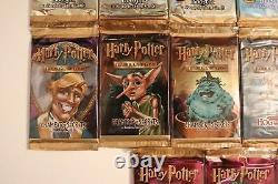Harry Potter Tcg Ensemble Complet De Packs 15 Boosters Tous Les Ensembles Tous Les Arts! Scellé