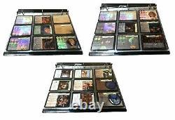 Harry Potter Tcg Tous Les Cinq Ensembles Complets + Tous Holo / Foils + Toutes Les Cartes Promo