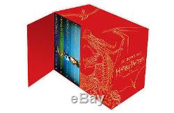 Harry Potter The Complete Collection Collection Ensemble De 7 Livres Collection J. K. Rowling Red