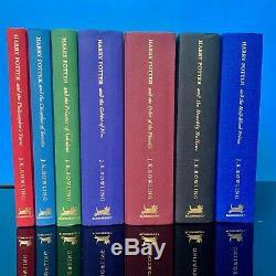 Harry Potter Uk Deluxe Edition Ensemble Complet De Bloomsbury Livres Cartonnés Non Lus