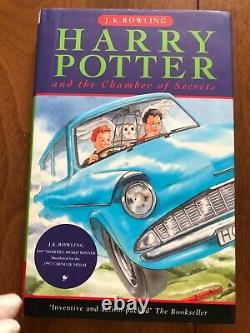 Harry Potter Uk Edition First Edition First Printing 1/1 Ensemble Complet