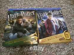 Harry Potter Ultimate Edition Blu Années Complètes 1-7 (rare-oop)