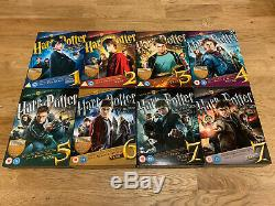 Harry Potter Ultimate Edition Blu-ray / DVD Years 1-7 Complete Set De 8 Films