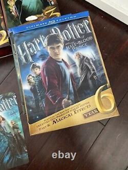 Harry Potter Ultimate Edition Complete 1-7, Joué Seulement Une Fois Chacun, Excellent