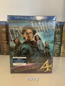 Harry Potter Ultimate Edition Complete Set Blu-ray Poo Marque Nouveau