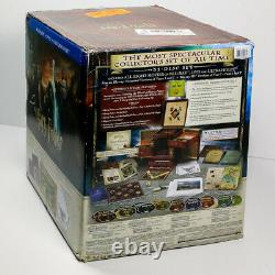 Harry Potter Wizards Collection (blu-ray + Dvd, 2012, 31 Disque + Extras) Complet