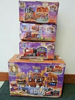 Harry Potter World Of Hogwarts Ensemble De Jeux Complets De 4 Nrfb Mattel