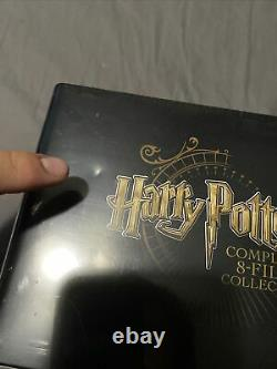 Harry Potter-complete 8 Film Blu Ray Steelbook Collection Best Buy Scelled