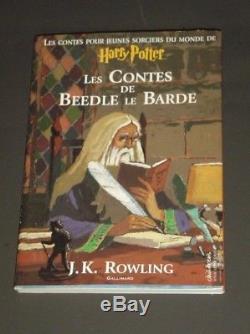 Htf Lot 8 Français Harry Potter Commerce Taille Taille J. K. Rowling Ensemble Complet 1er