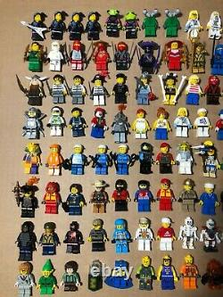 Huge Lego Lot 205 Complete Minifigures Extra Figure Parts Accessories Baseplates