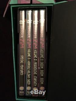 Invader Zim Complete Series DVD Volumes 1-3 Ensemble Coffret Maison + Déguisement De Chien