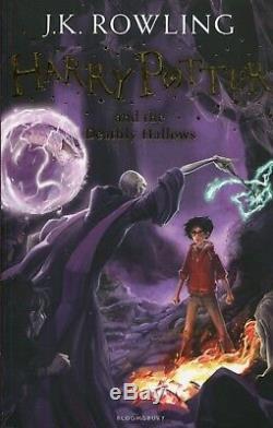 J K Rowling Harry Potter En Boîte De 7 Livres Collection Ensemble Complet Coffret Cadeau Nouveau