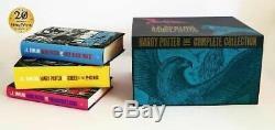 J. K. Rowling Harry Potter L'ensemble De La Collection Complète De 7 Livres Nouveau Pack