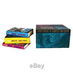 J. K. Rowling Harry Potter L'ensemble De La Collection De 7 Livres À Couverture Rigide À Couverture Rigide Nouveau