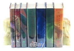 J K Rowling Première Édition Américaine Première Impression Harry Potter Ensemble Complet De 7 Volumes