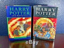 Jk Rowling Harry Potter Série Complète Hc Bloomsbury 1er 2 3 4 5 6 7 Uk Edition