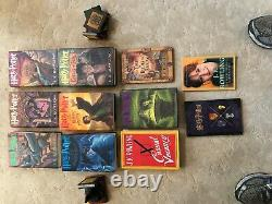 Jk Rowlings Ensemble Complet De Harry Potter True First American Editions +bonus