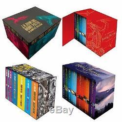 L'ensemble Des Coffrets Cadeaux De La Collection Complète De Sept Livres Harry Potter, J. K. Rowling
