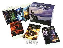 L'ensemble Des Coffrets Cadeaux Harry Potter J. K. Rowling Set De 7 Livres Nouveau