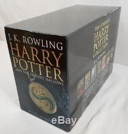 L'intégrale De La Collection Britannique Harry Potter (livres 1-7, Oop)