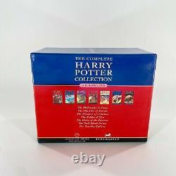 La Collection Complète Harry Potter Hardcover Boîte À Livre Set Raincoast Bloomsbury