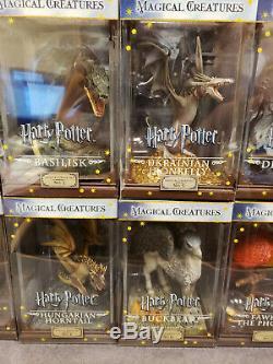 La Collection Noble Harry Potter Ensemble Complet De Créatures Magiques Des 10 Nouvelles