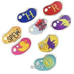 Laserbrain Patch Harry Potter Pin Série 7 Ensemble Complet De 8 Pins Bean