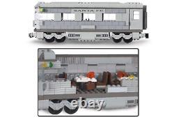 Lego 10022 City Town Train Santa Fe Cars Set II Complet Avecinstructions