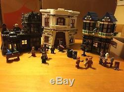 Lego 10217 Allée De Diagonale De Harry Potter 100% Avec Figurines + Instructions
