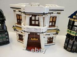 Lego 10217 Harry Potter Diagon Alley 100% Complet
