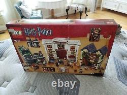 Lego 10217 Harry Potter Diagon Alley 100% Complet. Retraité, Difficile À Trouver