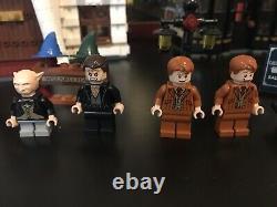 Lego 10217 Harry Potter Diagon Alley 99% Complet Comprend Tous Les Minifigs +manuels