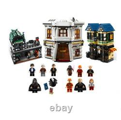 Lego 10217 Harry Potter Diagon Alley Complet Avec Figurines & Instructions