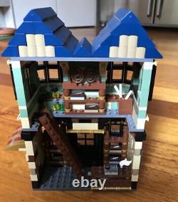 Lego 10217 Harry Potter Diagon Alley Dans La Boîte D'origine Ensemble Complet