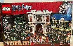 Lego 10217 Harry Potter Diagon Alley Retired (utilisé Complet Ou Substantiellement)