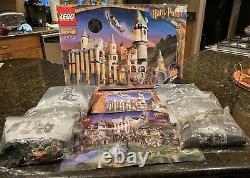 Lego 4709 Harry Potter Et Le Château Pierre Poudlard Sorciers 100% Complet