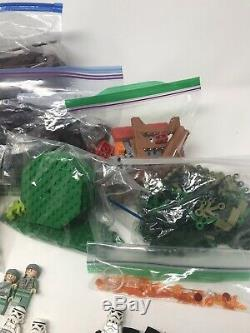 Lego 4840 Harry Potter Burrow Minifigurines Complet De 1 Livre Et À Manier Et, Pas De Boîte