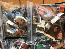 Lego 4840 Harry Potter The Burrow100% Complet Avec Boîtestored Dans Des Sachets En Plastique