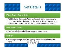 Lego 4840 Le Burrow 2010 100% Construire Complet
