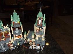Lego # 4842 & # 4867 Le Château De Poudlard 100% Complet Avec Manuels, Mini-chiffres Et Bonus
