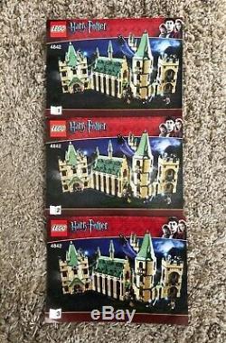 Lego 4842 Harry Potter Château De Poudrier 100% Complet